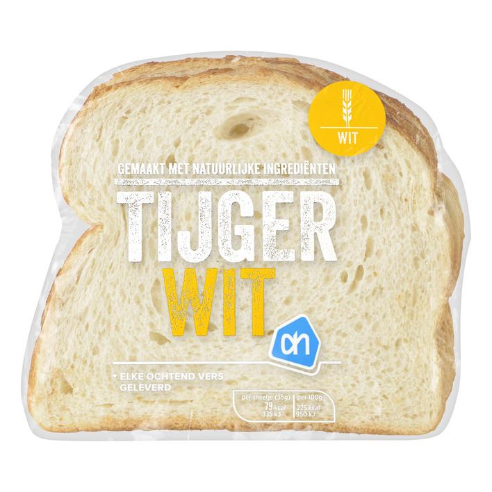 AH Tijgerbrood wit half,Lebensmittel online bestellen,Holland Shop ...